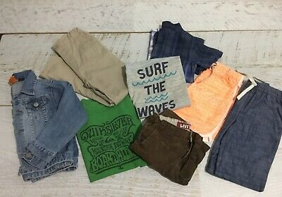 Boys Size 4  Clothes  DENIM JACKET quiksilver Levi's  Lee Cooper cotton on next