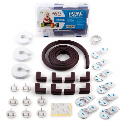 Hynec Home Protection Set - Child & Baby proofing - Cupboard Locks Corner Kids