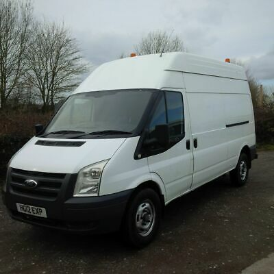 Ford Transit T350 Lwb High Roof 115Ps Fwd Van  2012 12 Reg In White