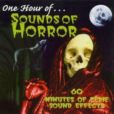 HALLOWEEN SOUNDS OF Horror CD 45 Minutes - Sound Effects SFX