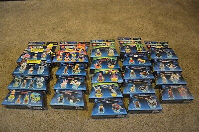 LEGO Dimensions Level, Team, and Fun Pack Lot. 22 Total Packs!!!