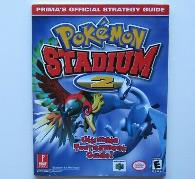 Pokemon Stadium 2 Video Game Nintendo 64 N64 Strategy Players Guide Hint Book