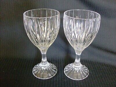 """8 1//4/"""" 0109F MIKASA COVENT GARDEN WATER GOBLET"""