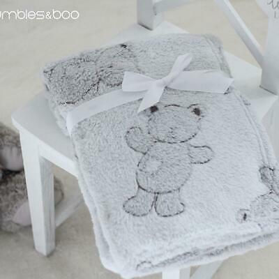 "Super Soft ""Teddy"" Fleece Baby Blanket 