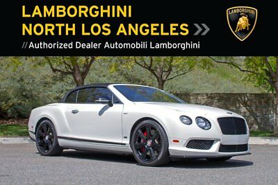 2015 Bentley CONCOURS SERIES V8S CONVERTIBLE  BENTLEY CONTINENTAL*CONCOURS EDITION+V8S+CONVERTIBLE+BACKUP CAMERA