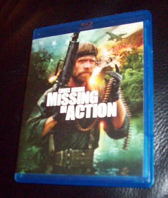 MISSING IN ACTION (1984) Chuck Norris Blu-ray DVD LIKE NEW