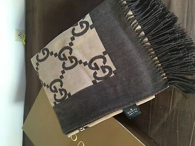 cheap for discount c865e ac9ed GUCCI GG DOUBLE sided Gucci Throw