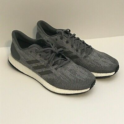 2ac79b283e3c2 ADIDAS BB6290 PureBOOST DPR Mn´s Grey Textile Synthetic Running Shoes Size  10.5