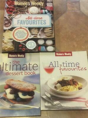 Australian Womens Weekly Cookbook All Time  Favourites Hard Back 230 Pages +++++