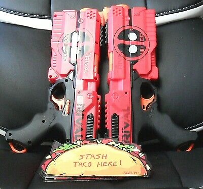 Nerf RIVAL Precision Battling Deadpool Kronos XVIII-500 Dual Pack ( Red )