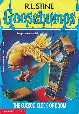 Goosebumps #28: The Cuckoo Clock of Doom by R. L. Stine (1995, Pback) VERY GOOD+