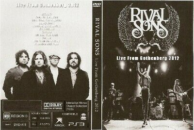 rival sons live in gothenburg dvd 2011 coldplay linkin park