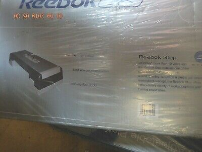 Reebok Step Aerobic Fitness Exercise Stepper Platform & Adjustable Height Risers