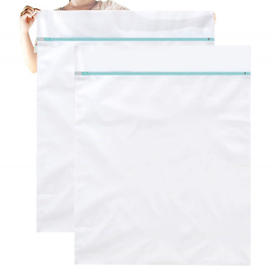 OTraki Extra Large Mesh Laundry Bag 43 x 35in Delicates Wash Bags 2 Pack Camp