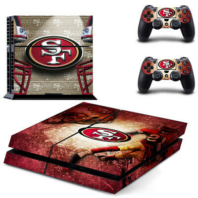 Ps4 Slim 0176 2 Controller Skins Vinyl Skin Set San Francisco 49rs