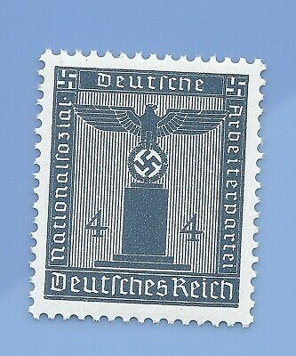Germany Third Reich Nazi 1942 Nazi Swastika Eagle 4 Stamp MNH WW2 ERA