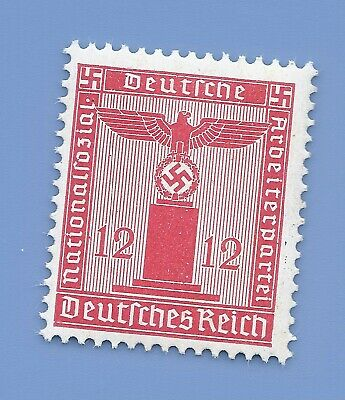 Germany Third Reich Nazi 1942 Nazi Swastika Eagle 12 Stamp MNH WW2 ERA