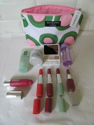 Clinique Samples - Minis - qty 9 plus bag -  New Never Used