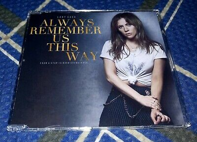 CD Single Lady Gaga - Always Remember Us This Way - 2018 - A Star Is Born