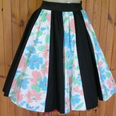 Rock N Roll Panelled Skirt