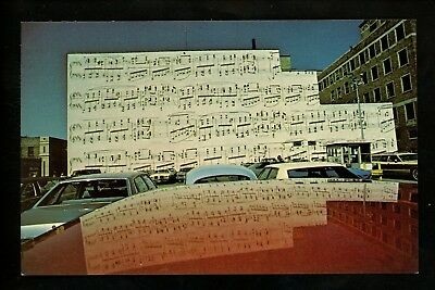 Music postcard Advertising Schmitt Music Company Minneapolis Minnesota MN chrome