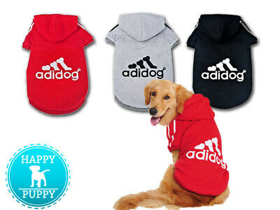 Adidog Warm Hoodie for Pets Dogs Clothes Adidog Coat Jacket Clothing S-9XL