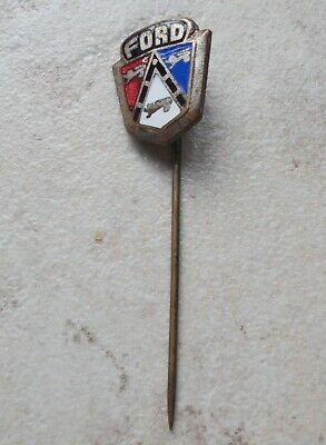 Épinglette badge FORD Vintage Pins Auto Automobile 1960's