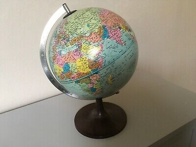 Superb Vintage World Globe On Stand SCAN - GLOBE A/ S