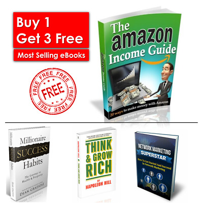The Amazon Income Guide + 3 Bonus eBook Collection + eBook PDF Resell Rights
