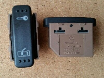 VW New Beetle 1998 to 2004 Door Lock Switch Central Locking Button 1C0 962 125