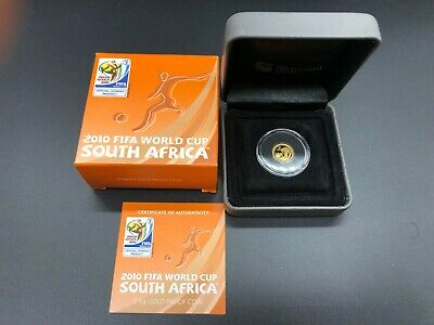 2010 FIFA WORLD CUP - SOUTH AFRICA - 0.5g Fine Gold 99.99 Coin. THE PERTH MINT