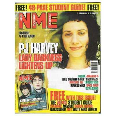 New Musical Express NME Magazine 3 October 1998 NPBox247 PJ Harvey