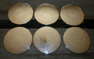 Set X 6 Strachan Silver Plate Placemats - 20.5Cm