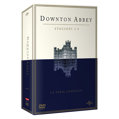 STV *** DOWNTON ABBEY - Stagione 01-04 (15 Dvd) *** sigillato