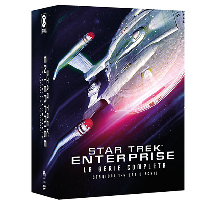 STV *** STAR TREK ENTERPRISE: Stagioni 1-4 (27 Dvd) *** sigillato