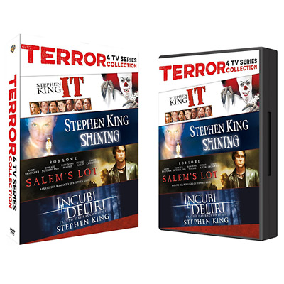 STV *** STEPHEN KING Horror Collection TV Series (7 Dvd) *** sigillato