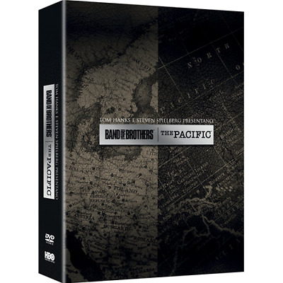 STV *** THE PACIFIC + BAND OF BROTHERS (11 Dvd) *** sigillato