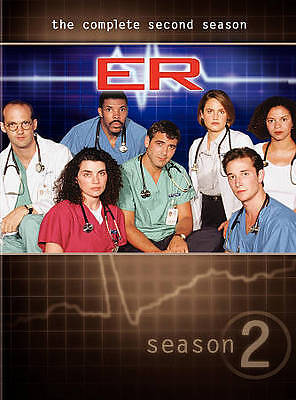 ER - The Complete Second Season (DVD, 2011, 7-Disc Set)* NEW/ FREE SHIPPING