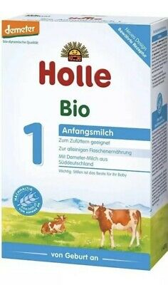 8X Holle Stage 1 Organic Infant Formula, 0-6 months, 400g(14.1oz) 12/2019 BOXES