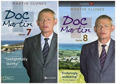 Doc Martin The Complete Series 7 And 8  7Th 8Th Dvd Bundle
