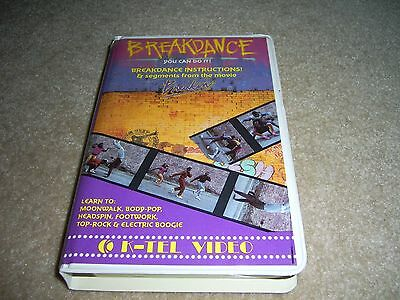 Breakdance VHS 1984 - You Can Do It - K-tel Video Learn the Moves from Breakin'