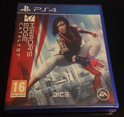 MIRROR'S EDGE CATALYST PS4 - Edition Francaise Neuf sous blister