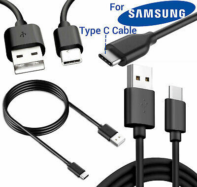 Samsung Galaxy S8 S9 Plus USB-C TYPE C 3.1 Data Sync Charging Charger Lead Cable