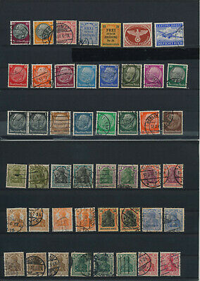 Germany, Deutsches Reich, Nazi, liquidation collection, stamps, Lot,used (HB 24)