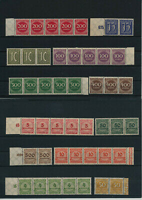 Germany, Deutsches Reich, Nazi, liquidation collection, stamps, Lot,used (HB 33)