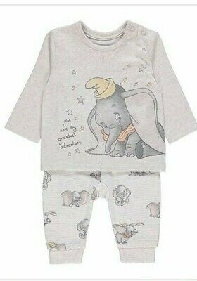 GREY DISNEY DUMBO SWEATSHIRT and JOGGERS Outfit BNWT ALL AGES SET