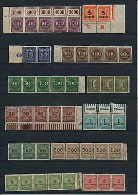 Germany, Deutsches Reich, Nazi, liquidation collection, stamps, Lot,used (HB 46)