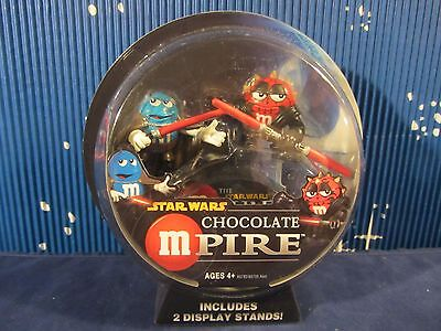Star Wars M&M Mpire - Darth Maul & Count Dooku figures & stands (1216DJ62) 85792