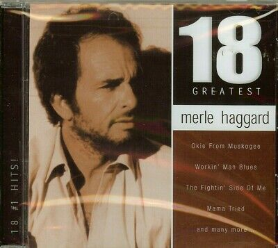Merle Haggard - 18 Greatest Hits - Cd - New - Sealed