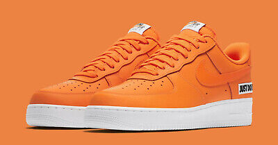 timeless design 086dc e1ce5 Nike Air Force 1 Af1 07 Lv8 Trainers Uk 14 Eu 49.5 Just Do It Leather